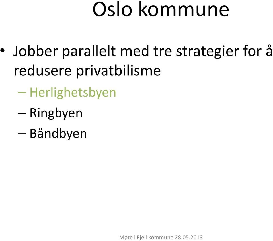 strategier for å redusere