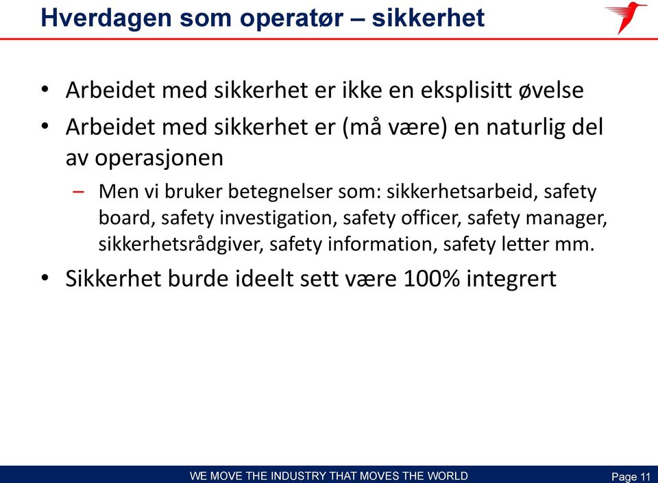sikkerhetsarbeid, safety board, safety investigation, safety officer, safety manager,