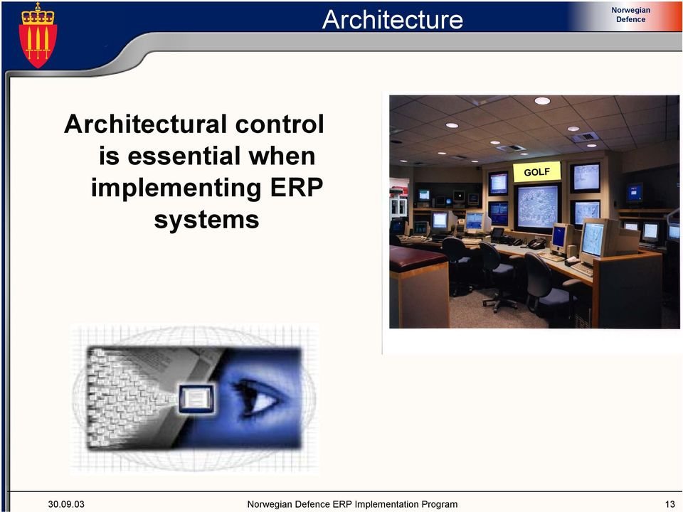 implementing ERP systems GOLF