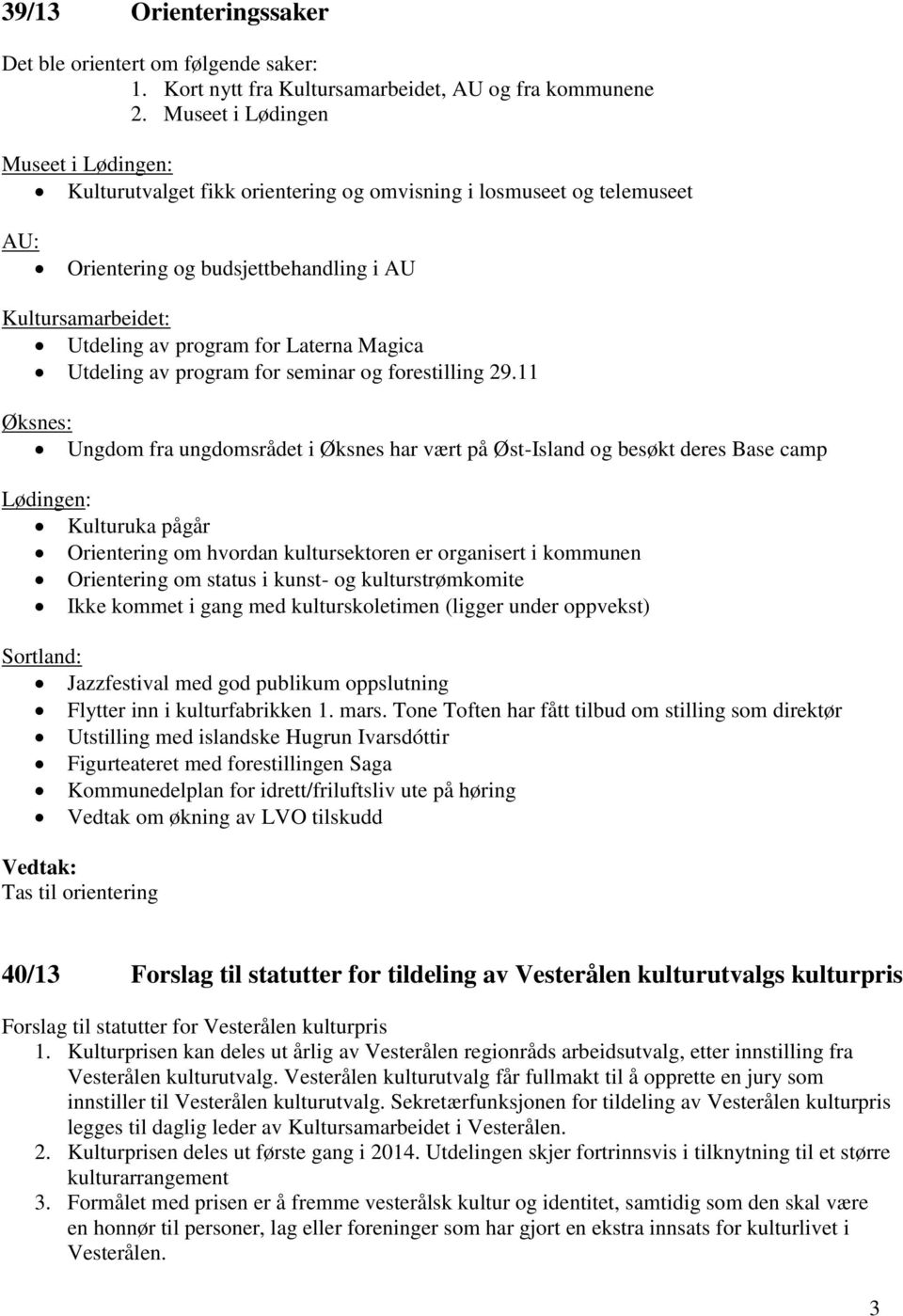 Laterna Magica Utdeling av program for seminar og forestilling 29.