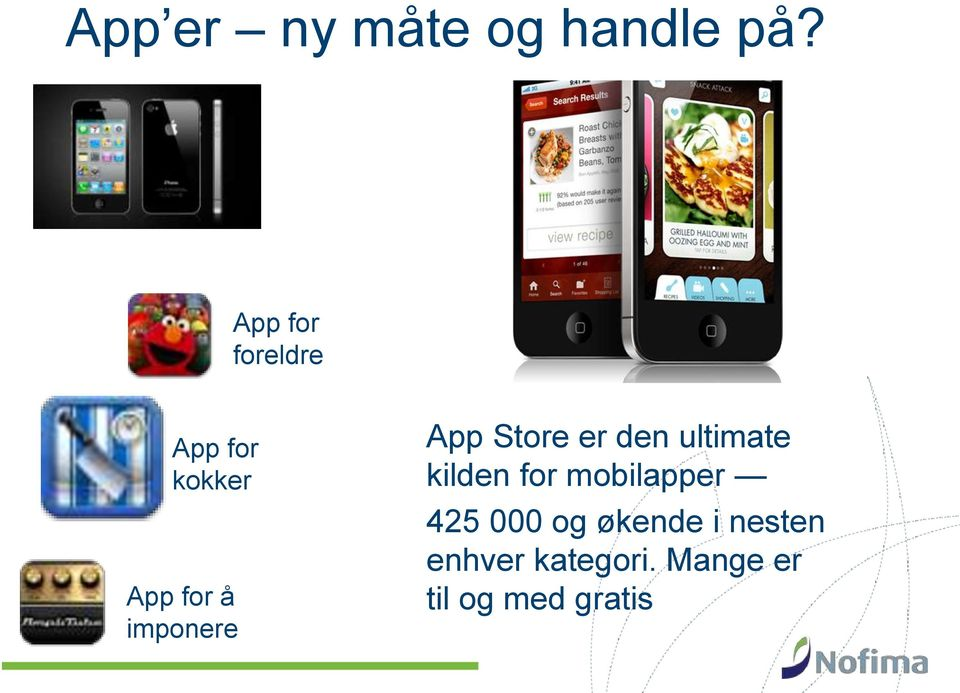 imponere App Store er den ultimate kilden for