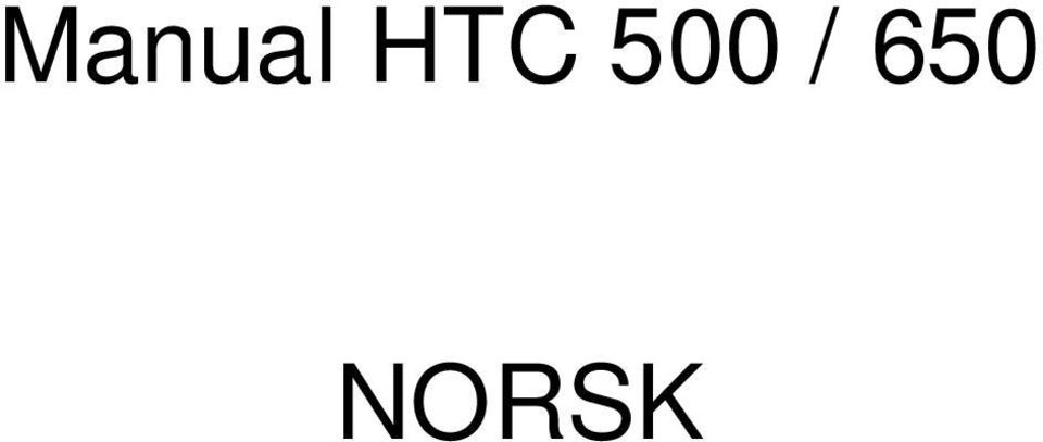 650 NORSK
