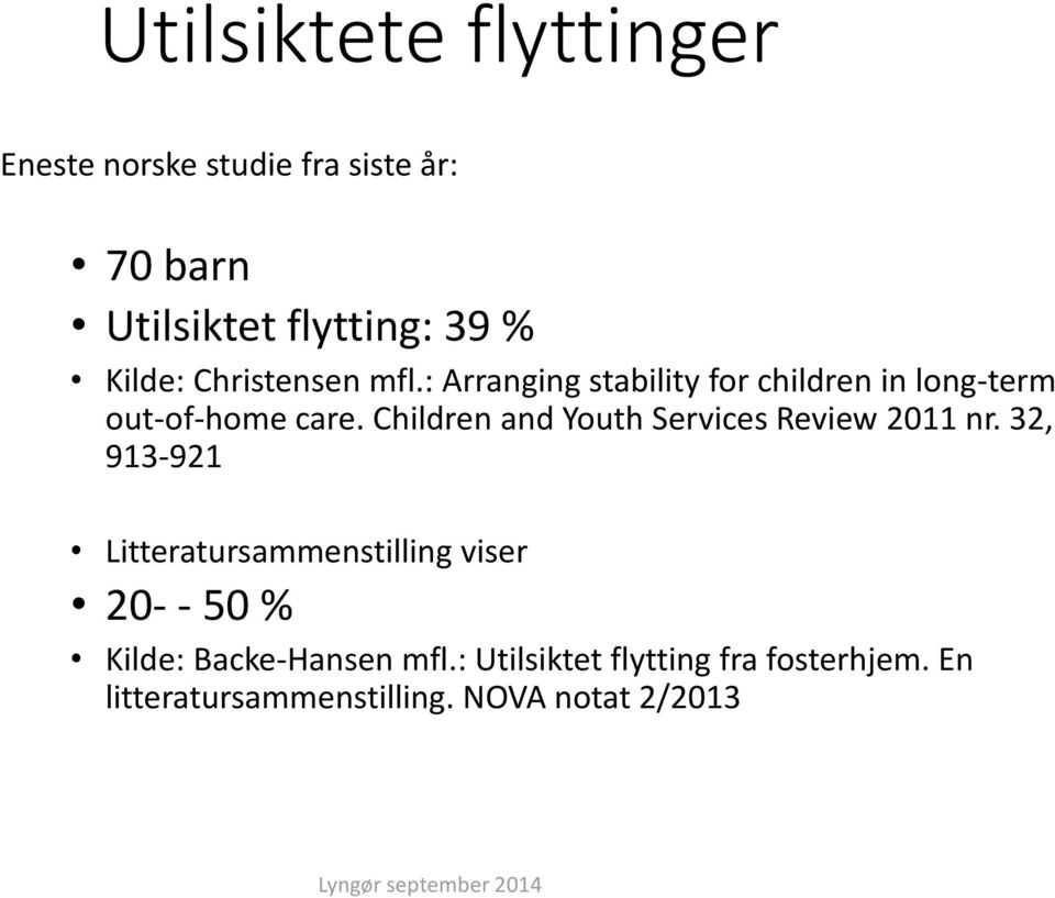 Children and Youth Services Review 2011 nr.