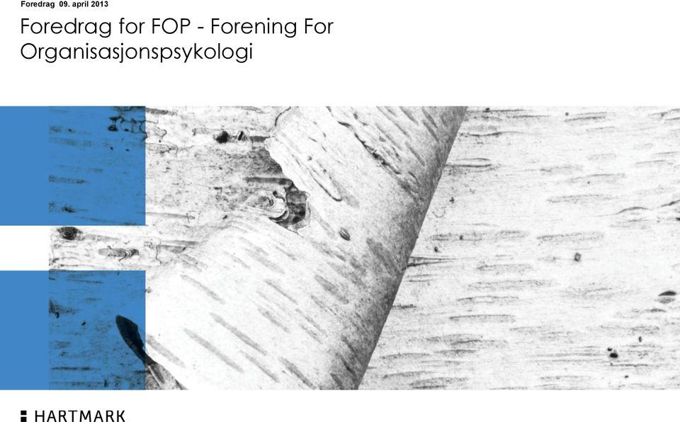 for FOP - Forening