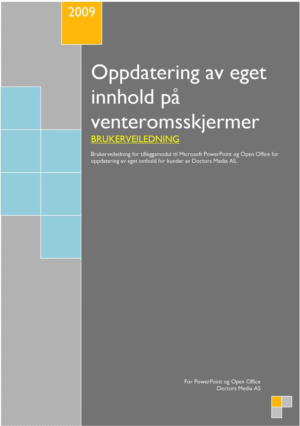 Microsoft PowerPoint og Open Office for oppdatering av eget