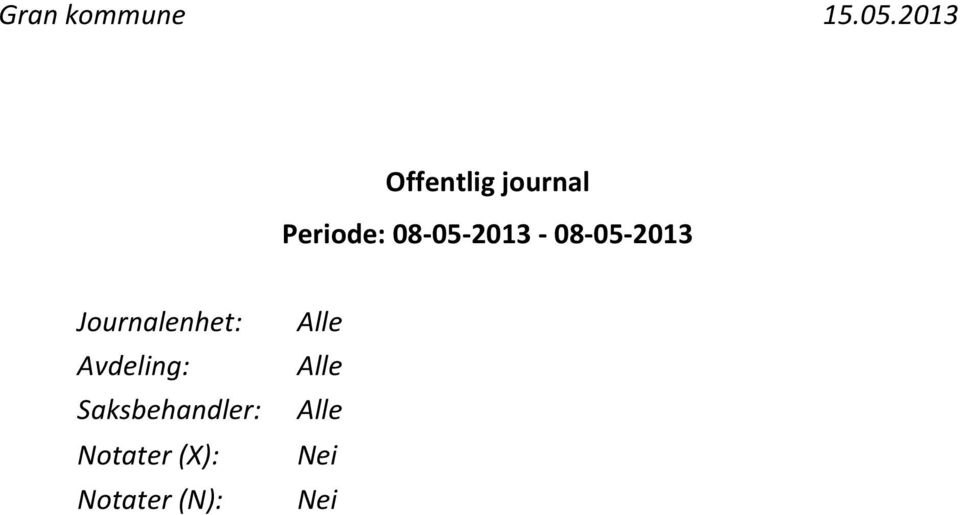 08-05-2013-08-05-2013 Journalenhet: