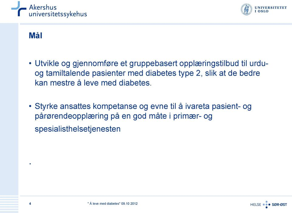 leve med diabetes.