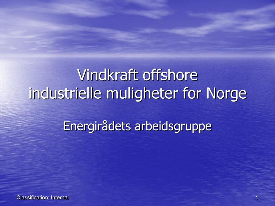 for Norge Energirådets