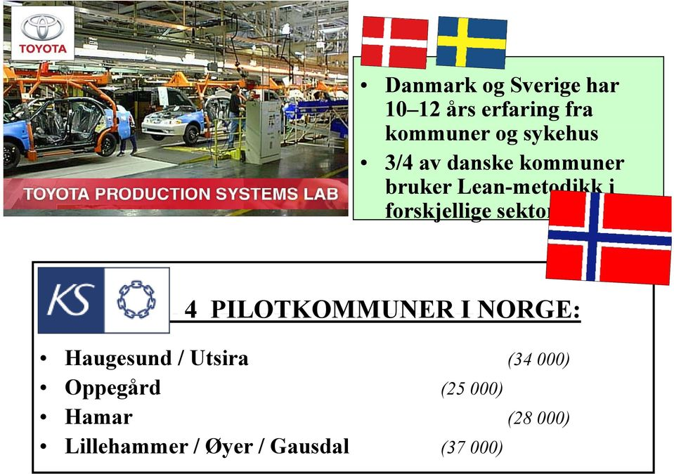 NORGE: This is lean production - sa amerikanerne Womack & Jones Haugesund /