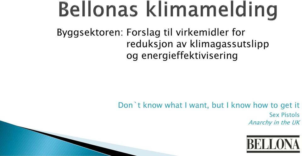 energieffektivisering Don`t know what I