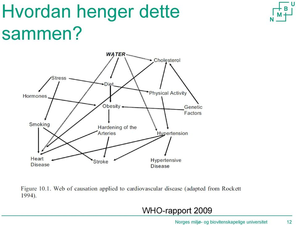 WHO-rapport 2009 Norges