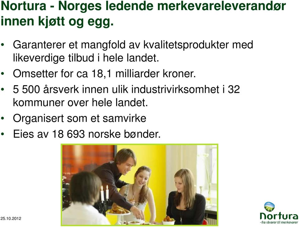 Omsetter for ca 18,1 milliarder kroner.