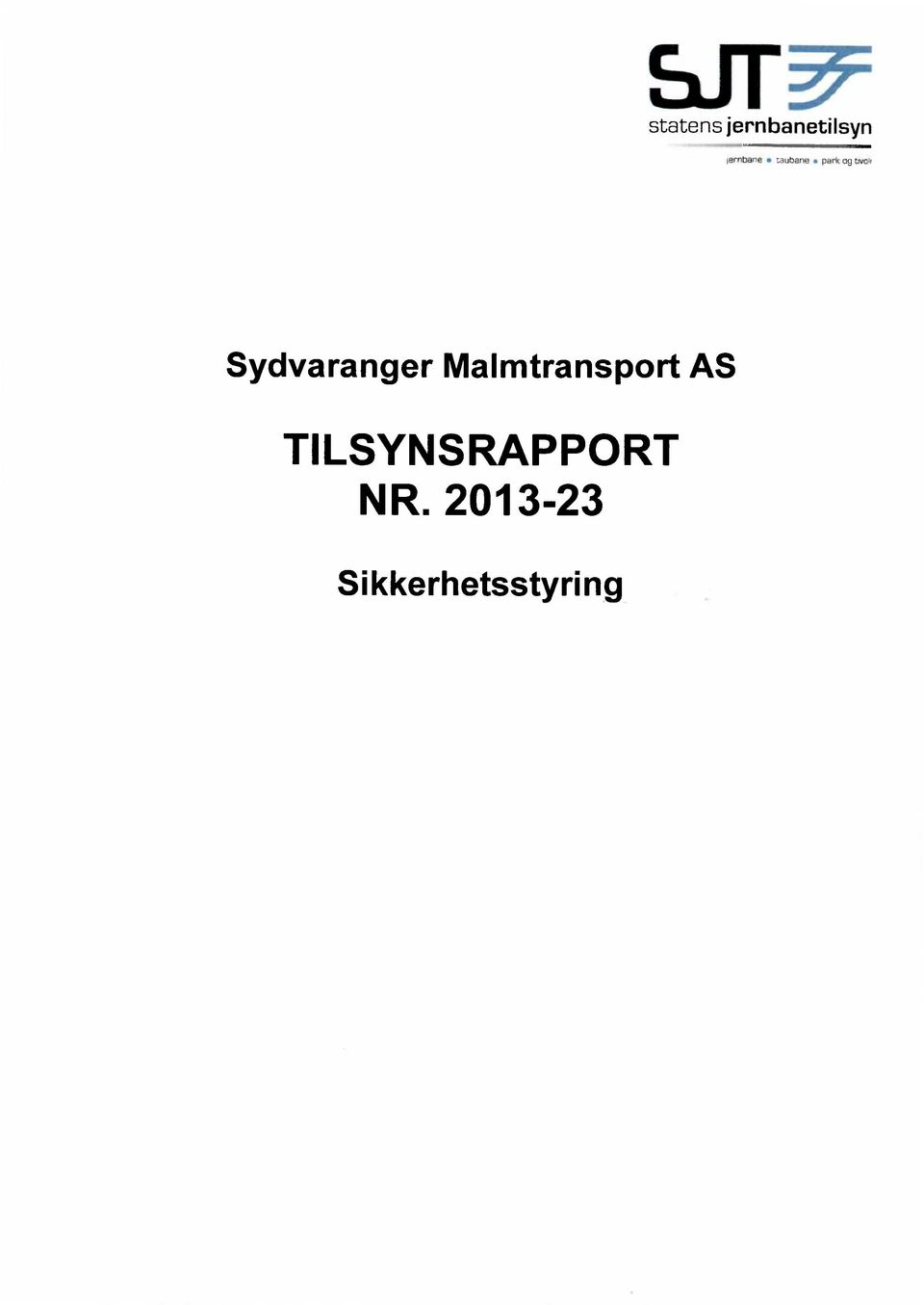 Sydvaranger Malmtransport AS