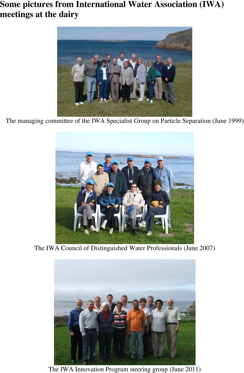 Particle Separation (June 1999) The IWA Council of Distinguished Water