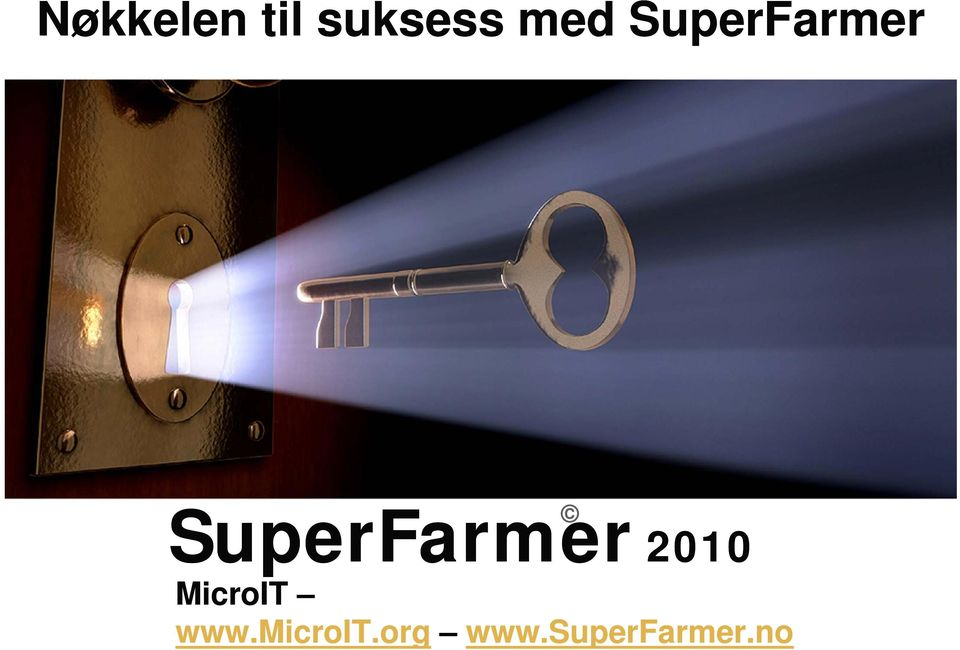 SuperFarmer 2010