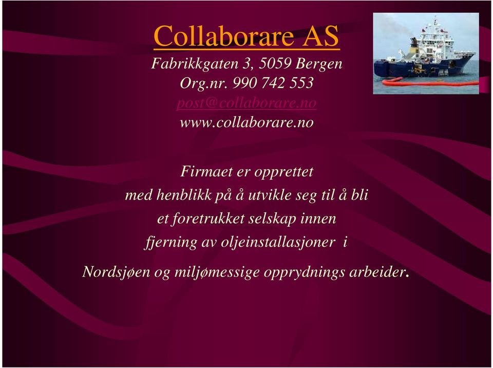 no www.collaborare.