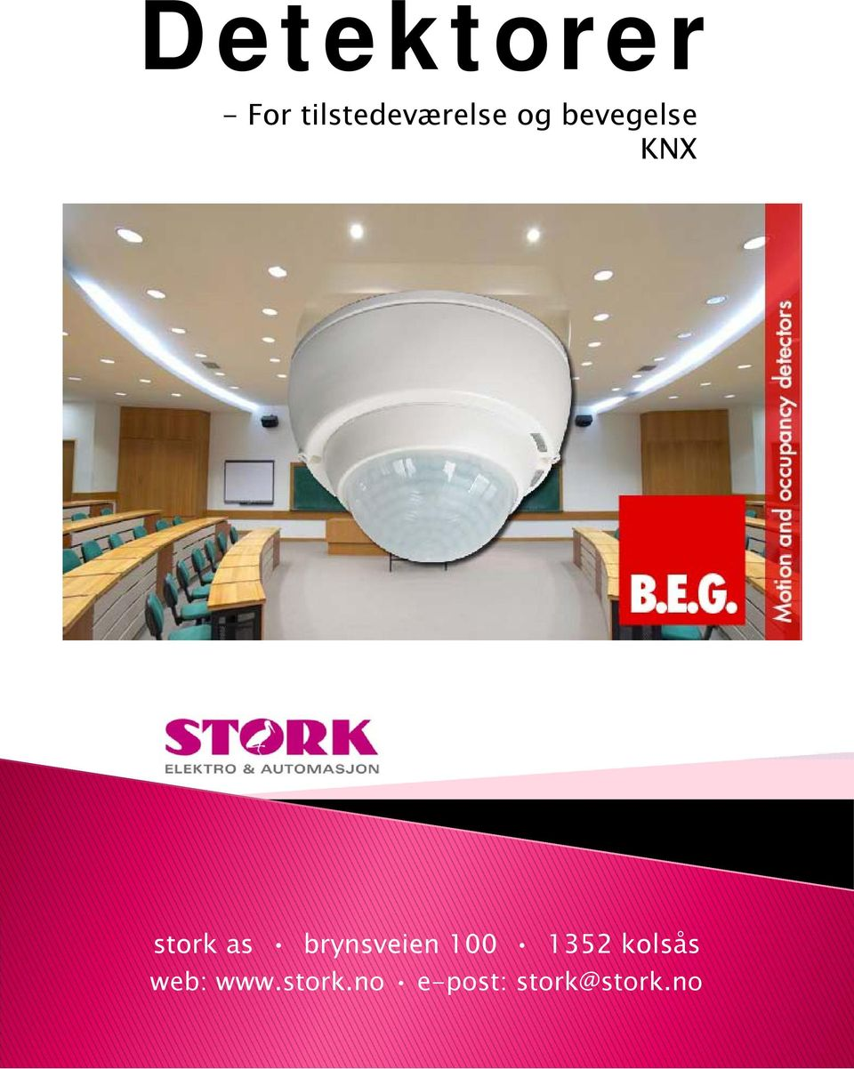 KNX stork as brynsveien 100