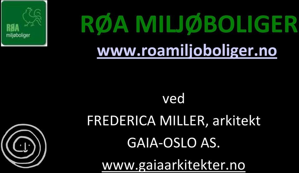 no ved FREDERICA MILLER,