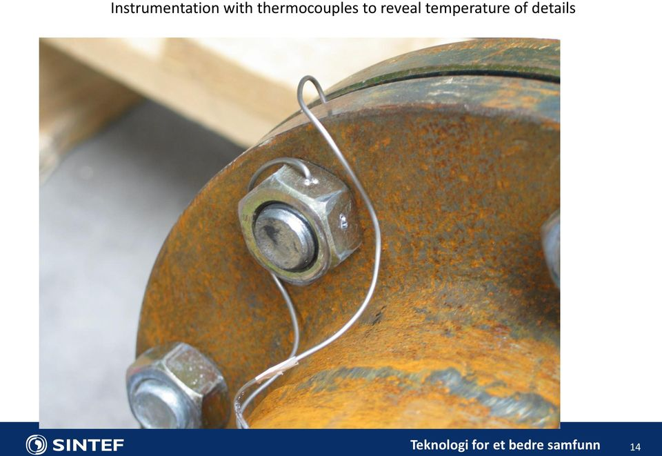 thermocouples to