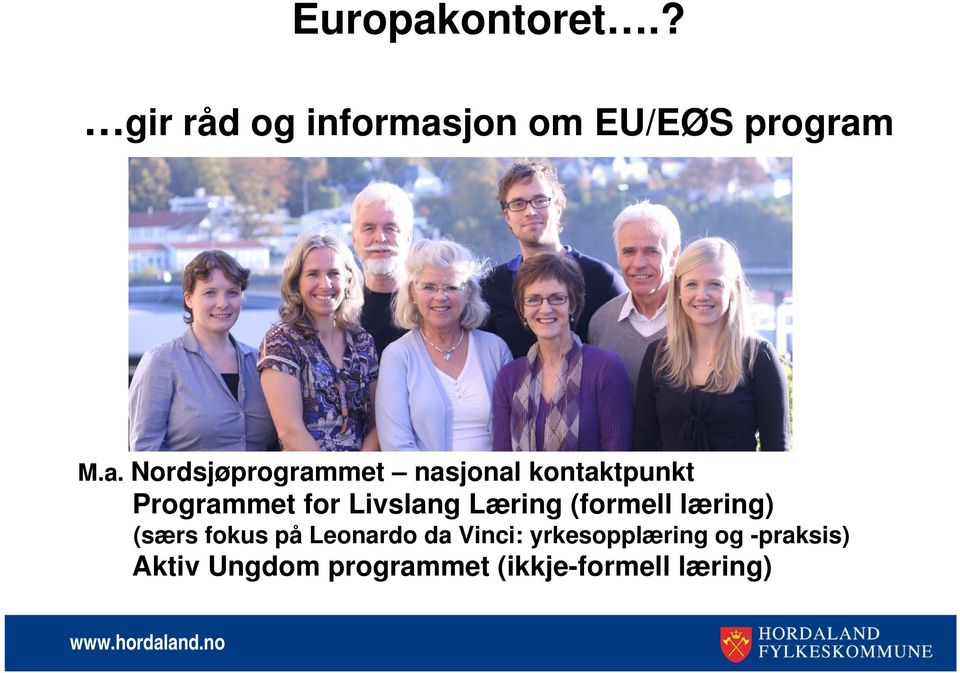 jon om EU/EØS program