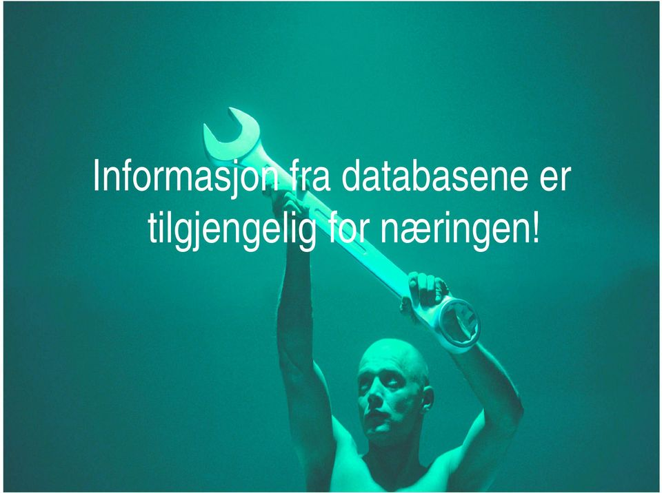 databasene er