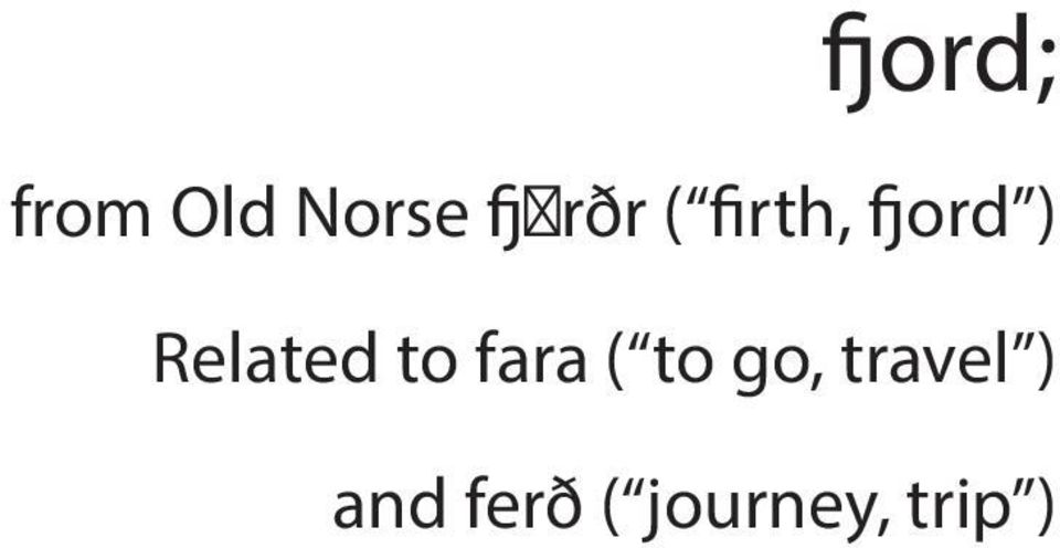Related to fara ( to go,