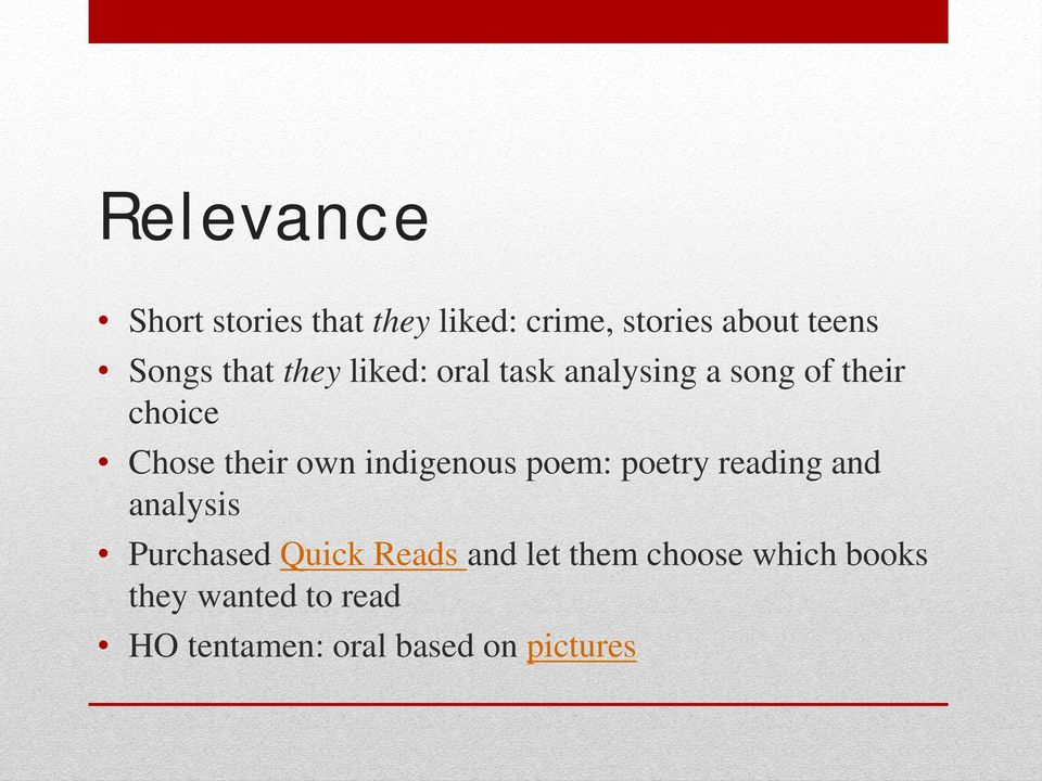 indigenous poem: poetry reading and analysis Purchased Quick Reads and let