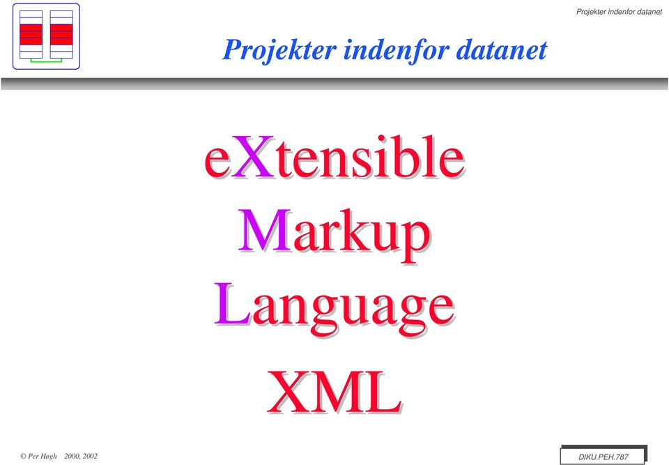 extensible Markup
