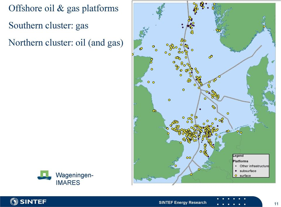 cluster: oil (and gas)