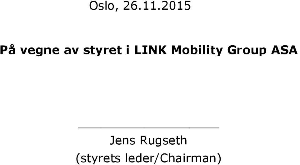 i LINK Mobility Group