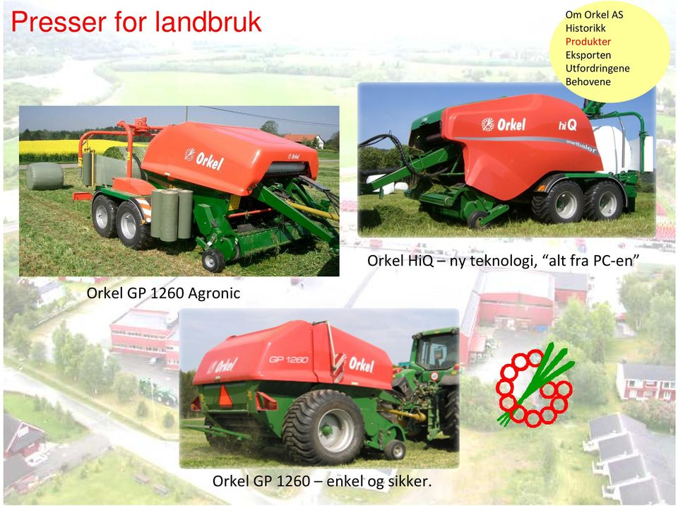 PC-en Orkel GP 1260 Agronic