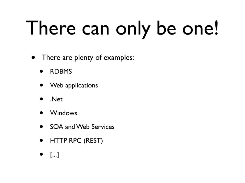 RDBMS Web applications.