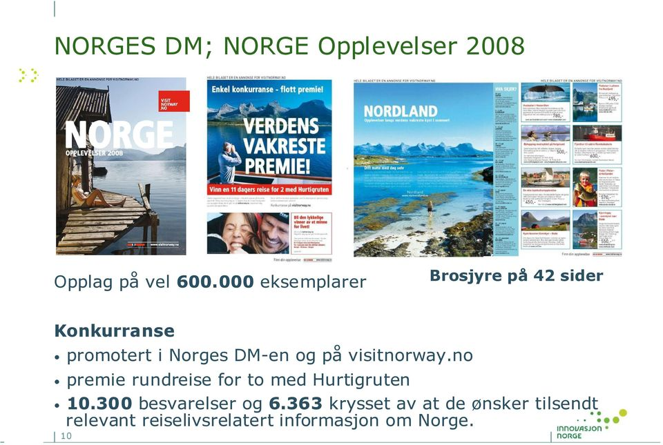 og på visitnorway.no premie rundreise for to med Hurtigruten 10.