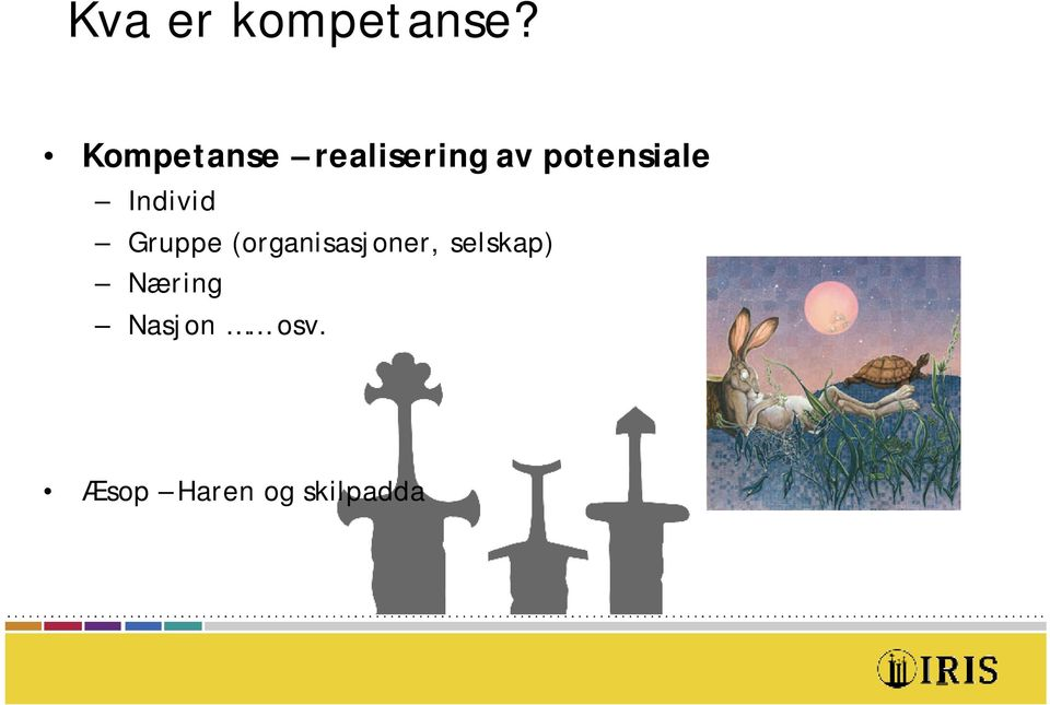 potensiale Individ Gruppe