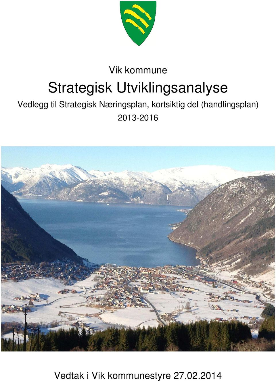 Strategisk Næringsplan,