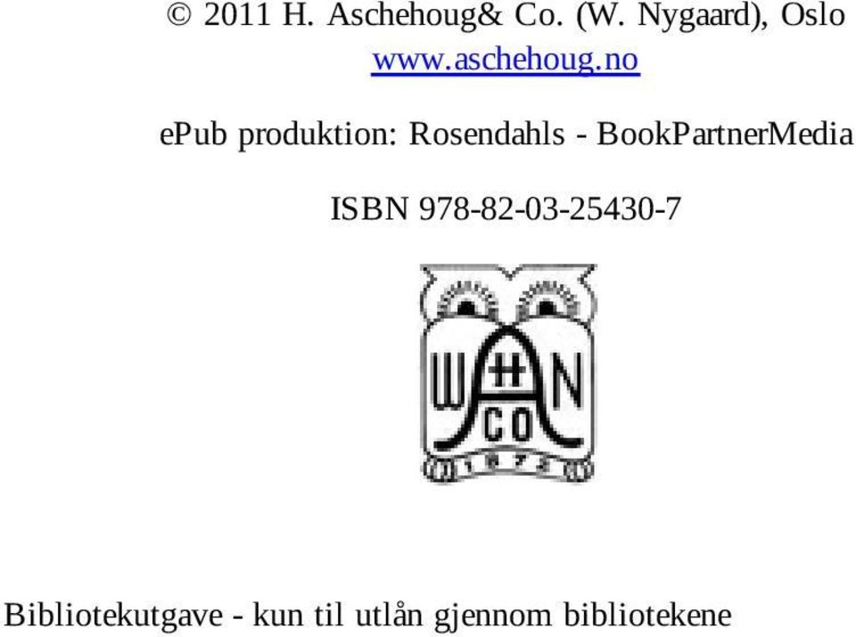 no epub produktion: Rosendahls -