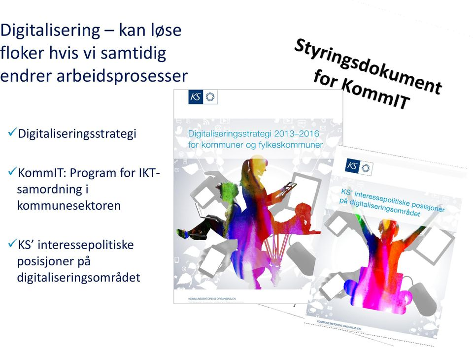 KommIT: Program for IKT samordning i