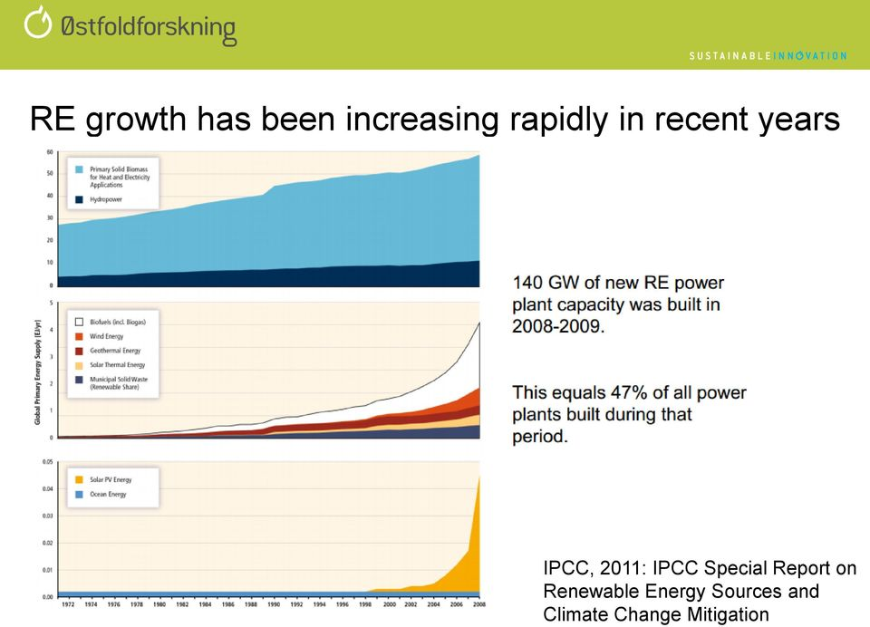 IPCC Special Report on Renewable