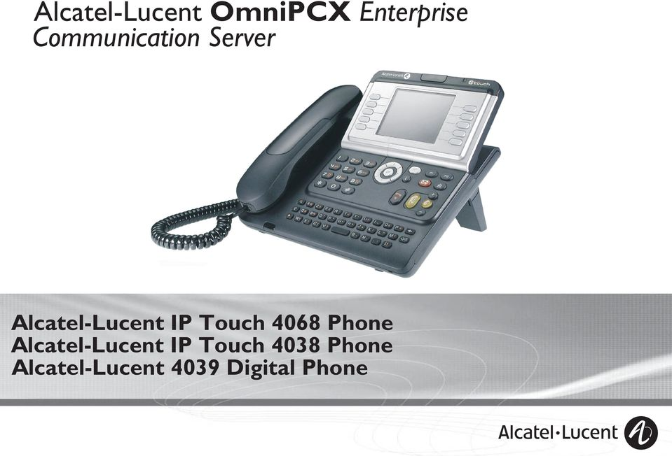 Touch 408 Phone Alcatel-Lucent IP
