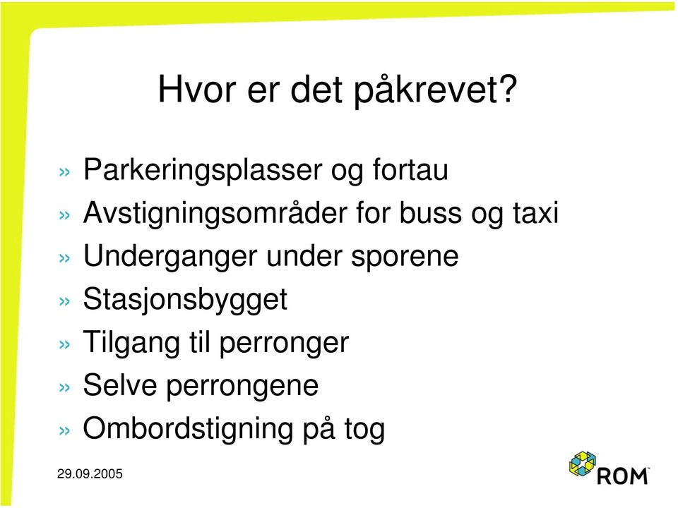 for buss og taxi» Underganger under sporene»