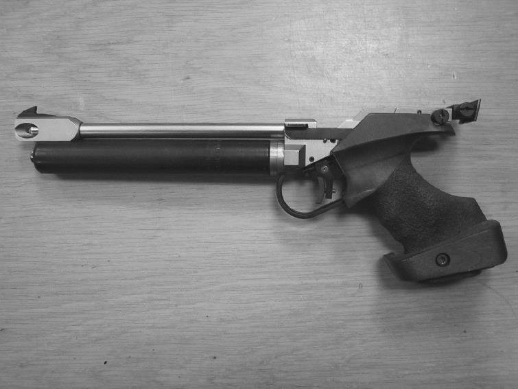 skyte moderne krutt i 38 smith wesson