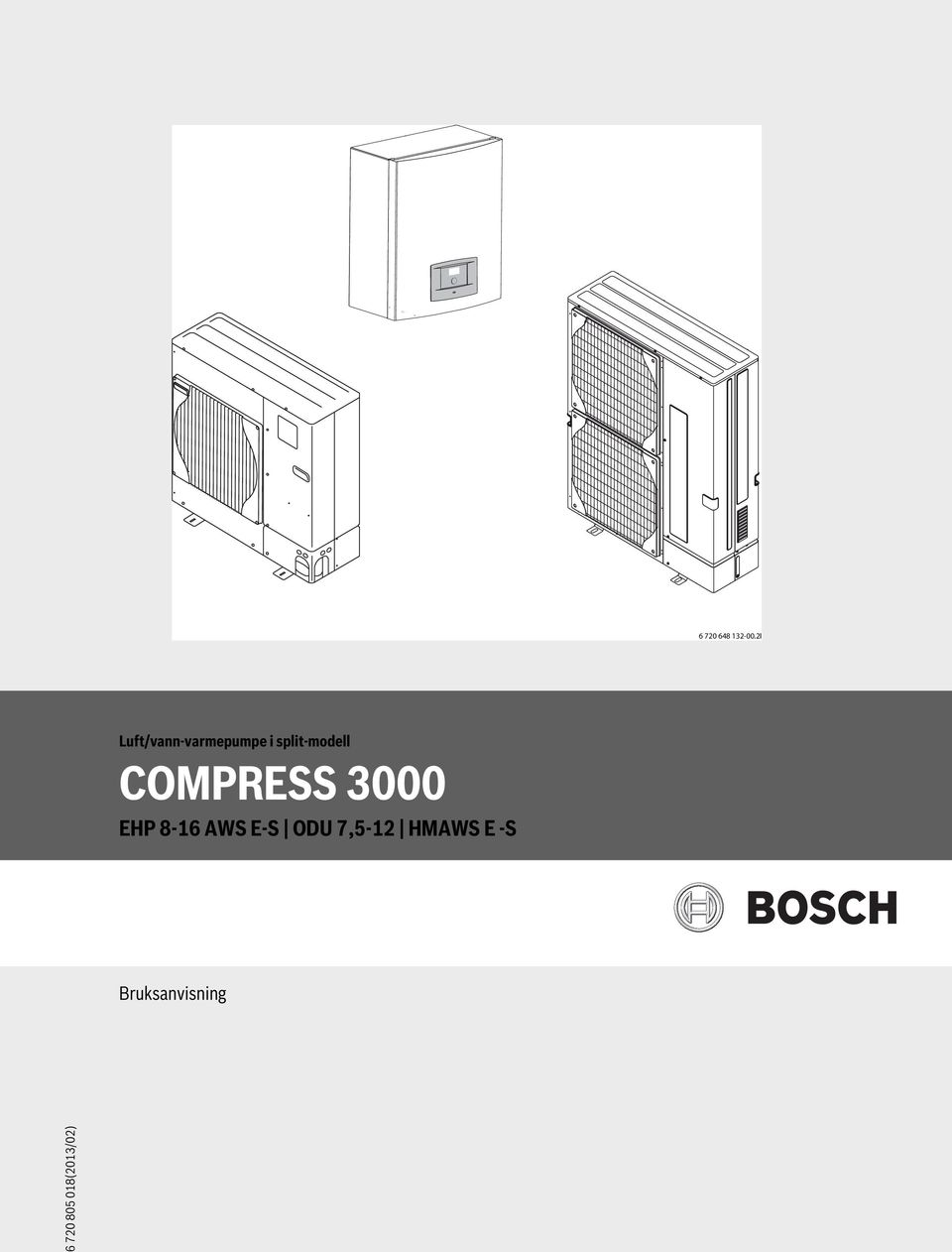 split-modell COMPRESS 3000 EHP 8-16