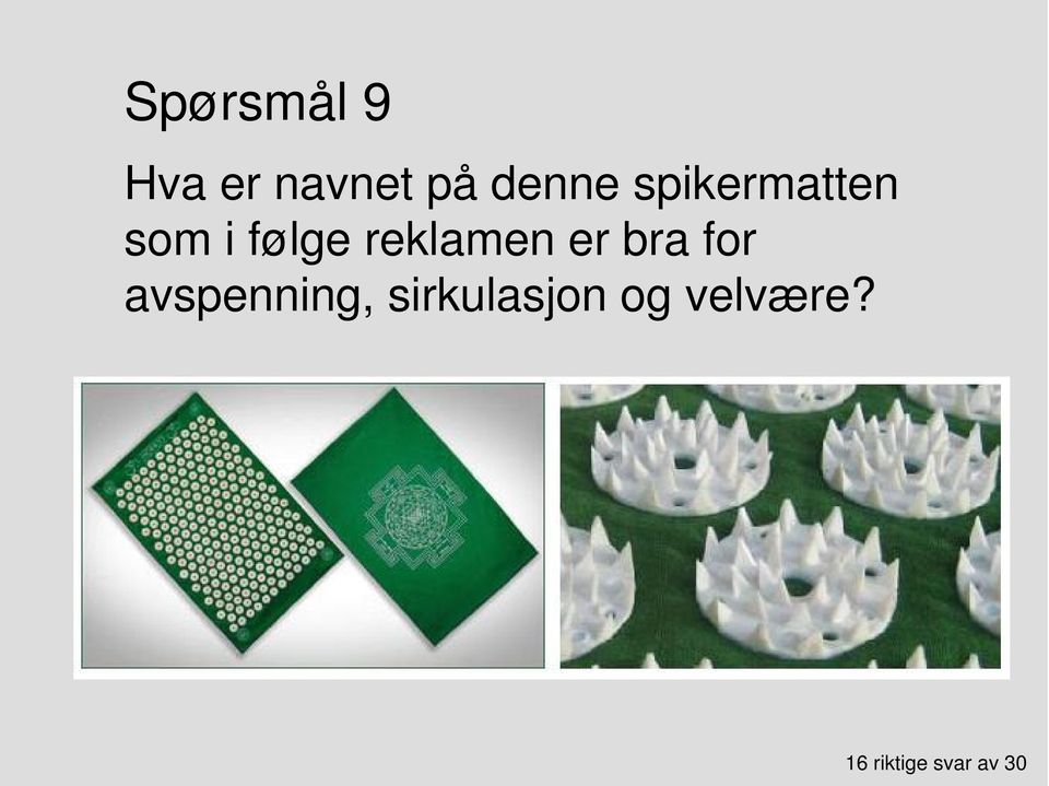 er bra for avspenning,