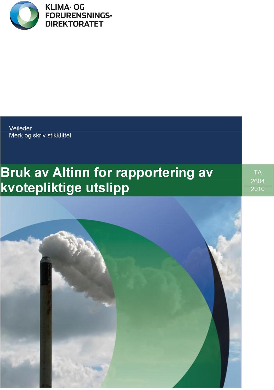 Altinn for rapportering