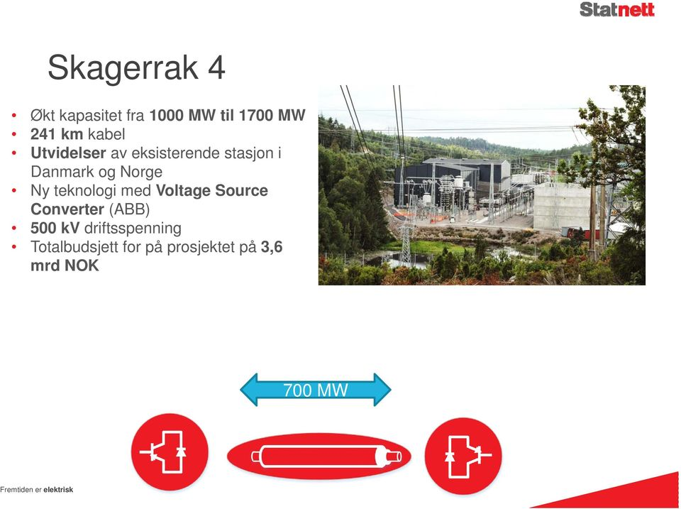 Ny teknologi med Voltage Source Converter (ABB) 500 kv