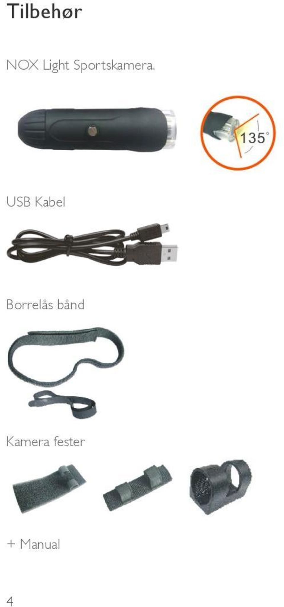 USB Kabel Borrelås