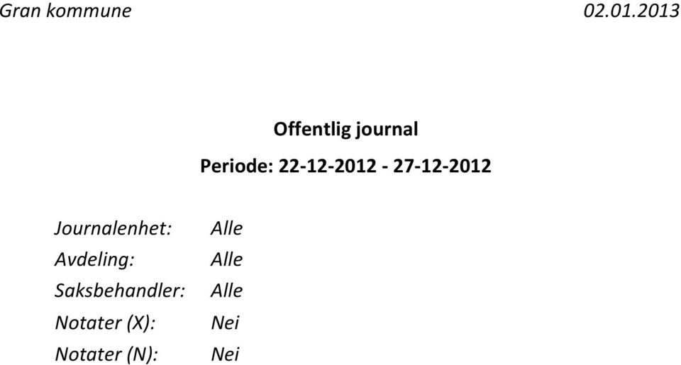 22-12-2012-27-12-2012 Journalenhet: