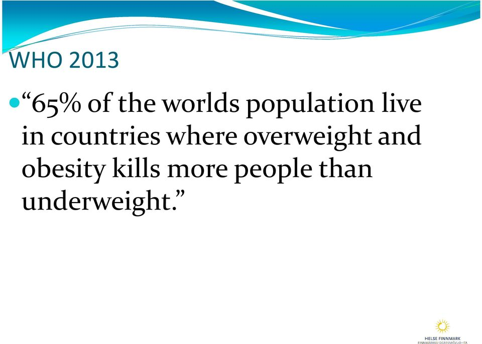 where overweight and obesity
