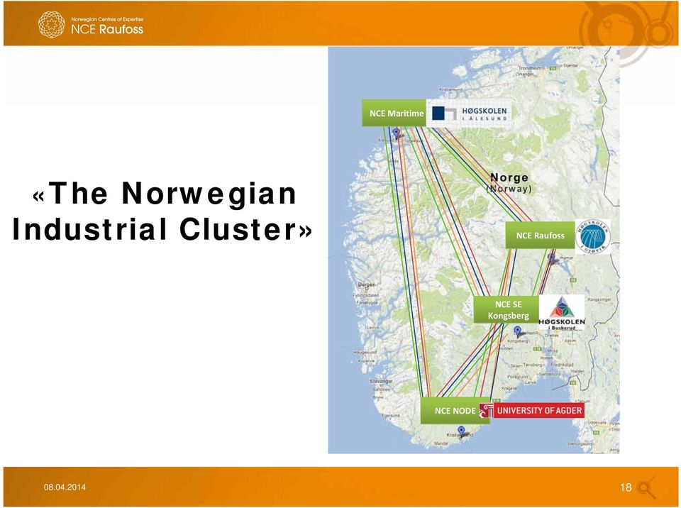 Cluster» NCE Raufoss NCE