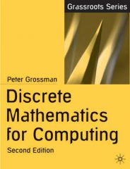 Pensum og lærebok Peter Grossman Discrete Mathematics for Computing (2.